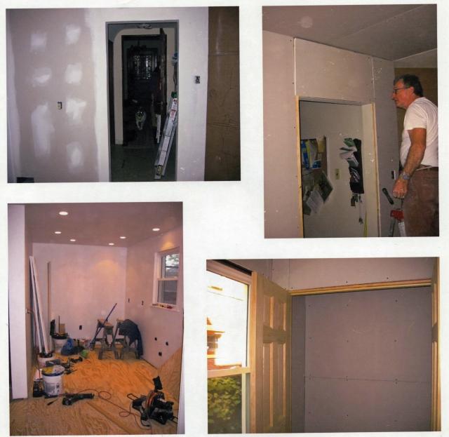 New kitchen doors closets and doorways